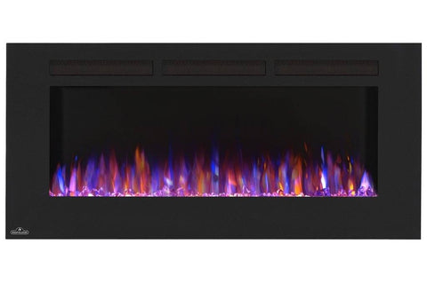 "Image of Napoleon Allure 50"" Linear Wall Mount Electric Fireplace - Electric Fireplace - Napoleon - ElectricFireplacesPlus.com"