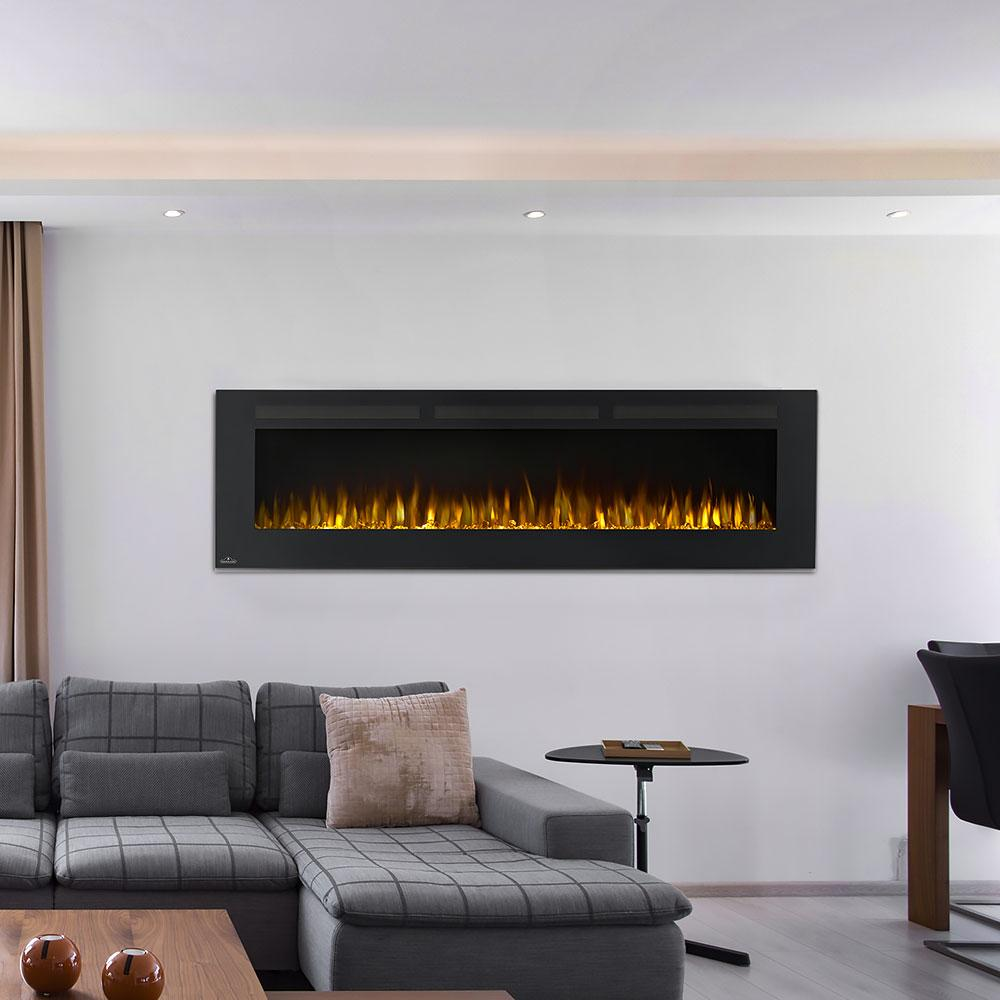 Napoleon Allure 72 Inch Linear Wall Mount Electric Fireplace