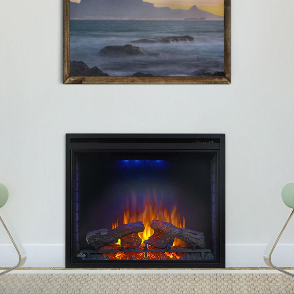 "Napoleon Ascent 33"" Built-in Electric Firebox - Electric Fireplace - Napoleon - ElectricFireplacesPlus.com"