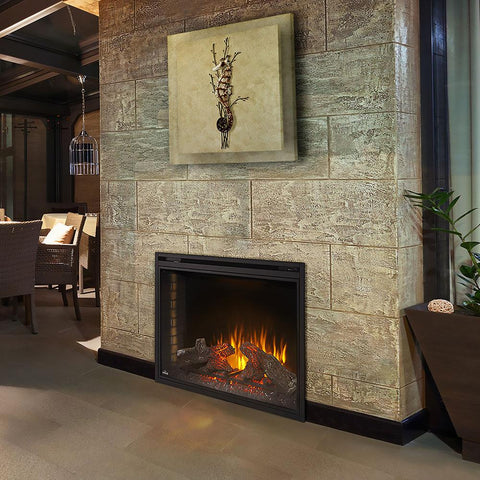 "Napoleon Ascent 40"" Electric Fireplace Insert - Electric Fireplace - Napoleon - ElectricFireplacesPlus.com"