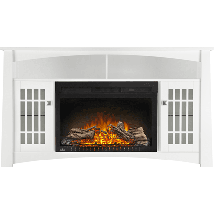 "Napoleon The ADELE  27"" Electric Fireplace TV Stand - Electric Fireplace - Napoleon - ElectricFireplacesPlus.com"