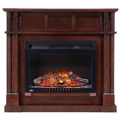 "Image of Napoleon The BAILEY 24"" Mantel Package Wall/Corner Electric Fireplace - Electric Fireplace - Napoleon - ElectricFireplacesPlus.com"