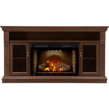 "Napoleon The CANTERBURY 29"" Electric Fireplace TV Stand - Electric Fireplace - Napoleon - ElectricFireplacesPlus.com"