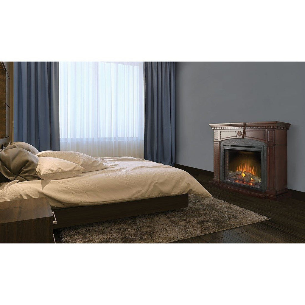 "Napoleon The HARLOW 33"" Electric Fireplace Mantel Package - Electric Fireplace - Napoleon - ElectricFireplacesPlus.com"