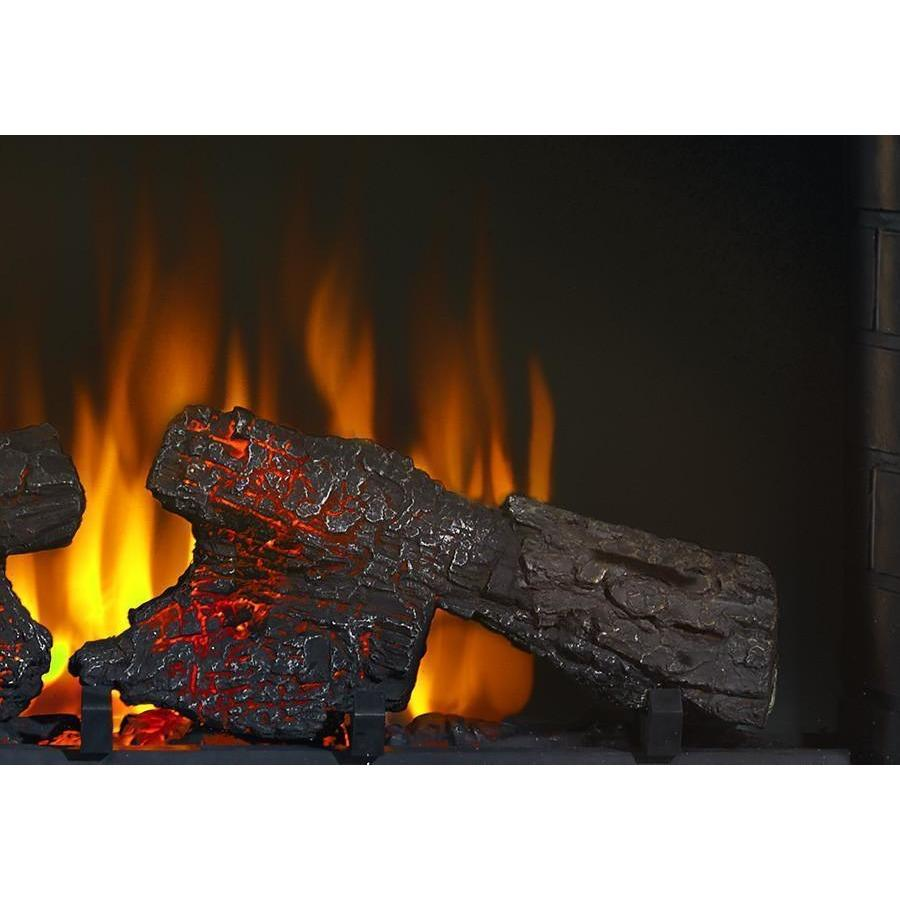 Napoleon 33 Inch Freestanding Electric Fireplace Mantel Package
