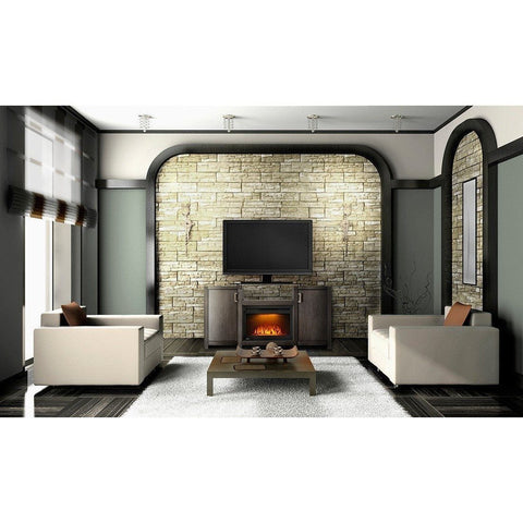 "Image of Napoleon The Whitney 24"" Electric Fireplace TV Stand - Electric Fireplace - Napoleon - ElectricFireplacesPlus.com"