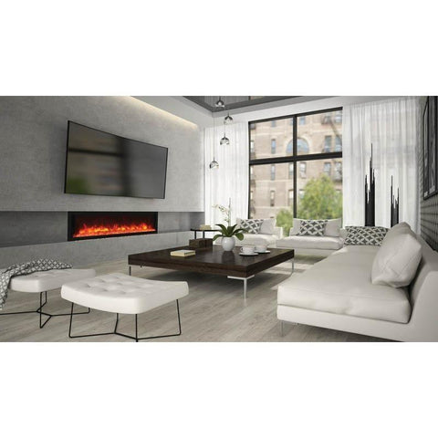 "Image of Remii 65-DE - 65"" Electric Fireplace Indoor/Outdoor - Electric Fireplace - Remii - ElectricFireplacesPlus.com"