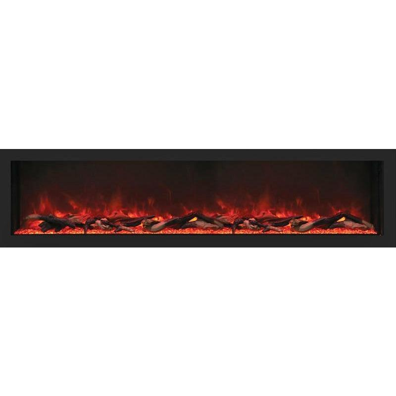 "Remii 65-DE - 65"" Electric Fireplace Indoor/Outdoor - Electric Fireplace - Remii - ElectricFireplacesPlus.com"