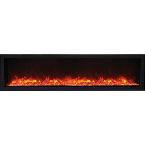 "Image of Remii XS-65- 65"" Electric Fireplace Indoor/Outdoor - Electric Fireplace - Remii - ElectricFireplacesPlus.com"