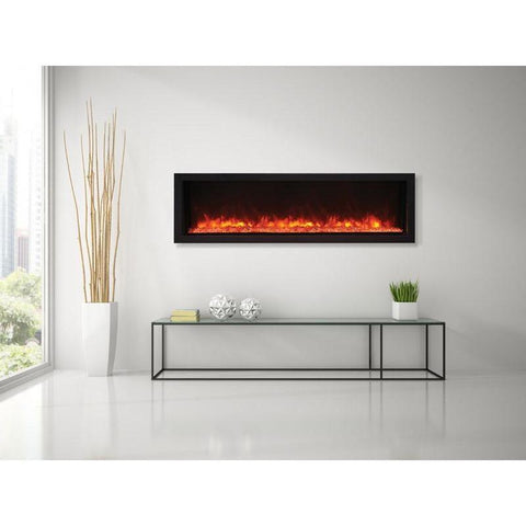 "Image of Remii XT-55 - 55"" Electric Fireplace Indoor/Outdoor - Electric Fireplace - Remii - ElectricFireplacesPlus.com"