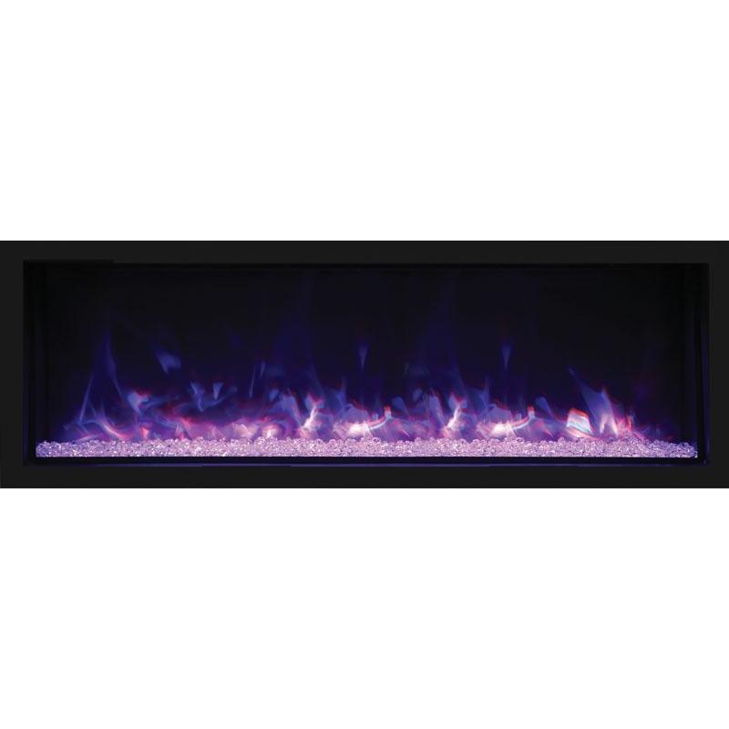 "Remii XT-65 - 65"" Electric Fireplace Indoor/Outdoor - Electric Fireplace - Remii - ElectricFireplacesPlus.com"
