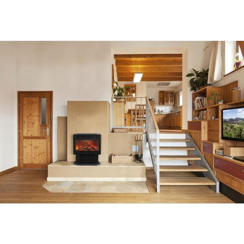 "Sierra Flame Free Stand 26"" Electric Fireplace - Electric Fireplace - Sierra Flame - ElectricFireplacesPlus.com"