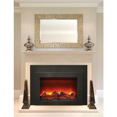"Sierra Flame INS-FM-34 34"" Electric Fireplace Insert - Electric Fireplace - Sierra Flame - ElectricFireplacesPlus.com"