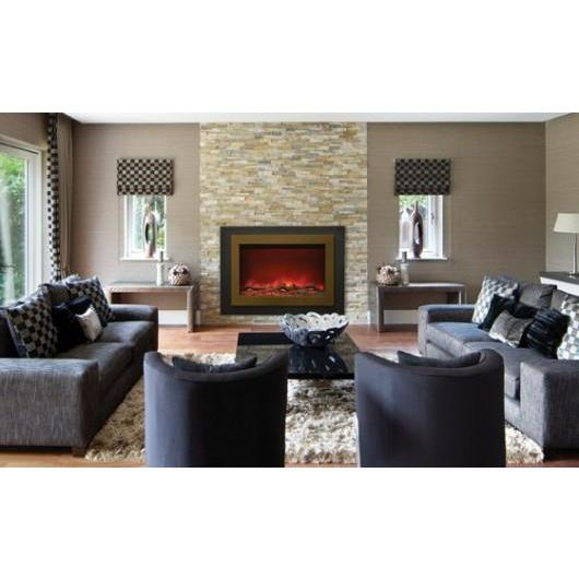 "Sierra Flame ZC-FM-37 37"" Electric Fireplace Insert - Electric Fireplace - Sierra Flame - ElectricFireplacesPlus.com"