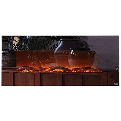 "Touchstone Mirror Onyx 50"" Electric Fireplace - Electric Fireplace - Touchstone - ElectricFireplacesPlus.com"