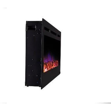 "Image of Touchstone Sideline 50"" Flush Mount Electric Fireplace - Electric Fireplace - Touchstone - ElectricFireplacesPlus.com"