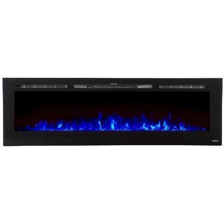 "Image of Touchstone Sideline 72"" Flush Mount Electric Fireplace - Electric Fireplace - Touchstone - ElectricFireplacesPlus.com"