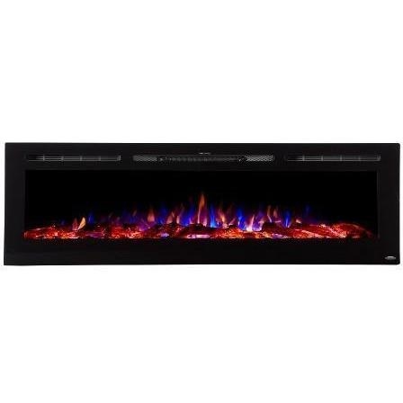 "Touchstone Sideline 72"" Flush Mount Electric Fireplace - Electric Fireplace - Touchstone - ElectricFireplacesPlus.com"