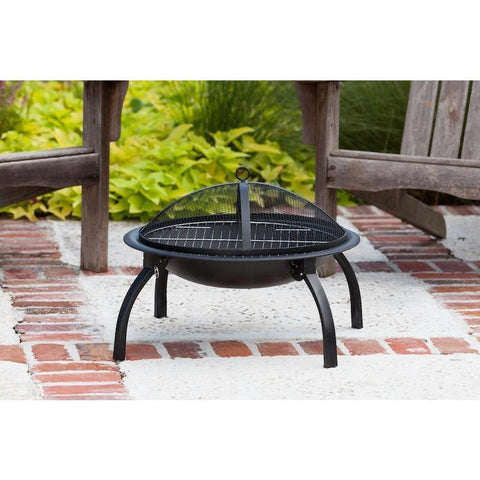 "Image of 22"" Folding Fire Pit - Fire Pit - Fire Sense - ElectricFireplacesPlus.com"