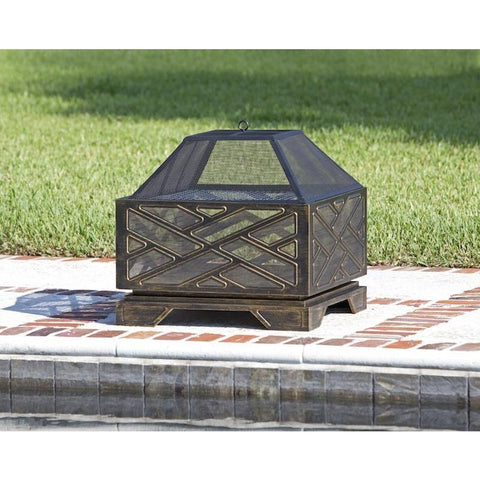 Image of Catalano Square Fire Pit - Fire Pit - Fire Sense - ElectricFireplacesPlus.com