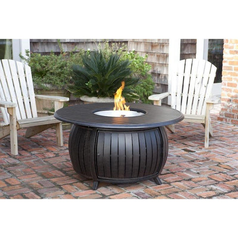 Image of Grand Cooper Aluminum Round LPG Fire Pit - Fire Pit - Fire Sense - ElectricFireplacesPlus.com