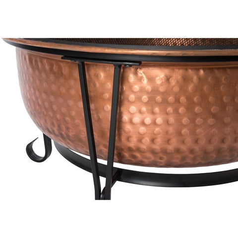 Image of Palermo Copper Fire Pit - Fire Pit - Fire Sense - ElectricFireplacesPlus.com
