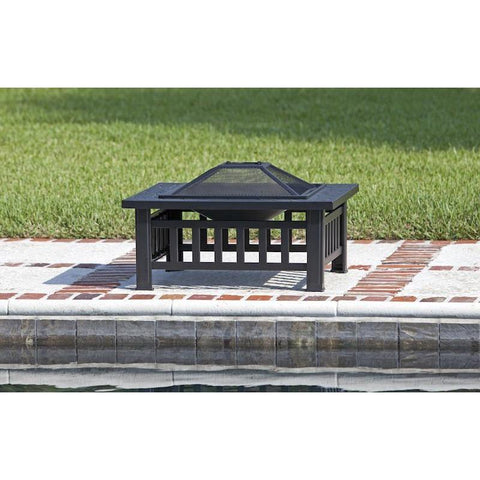 Image of Stonemont Square Fire Pit - Fire Pit - Fire Sense - ElectricFireplacesPlus.com