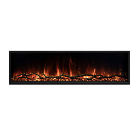 "Image of Modern Flames Landscape Pro Slim 80"" Built In Wall Mount Electric Fireplace - LPS-8014"