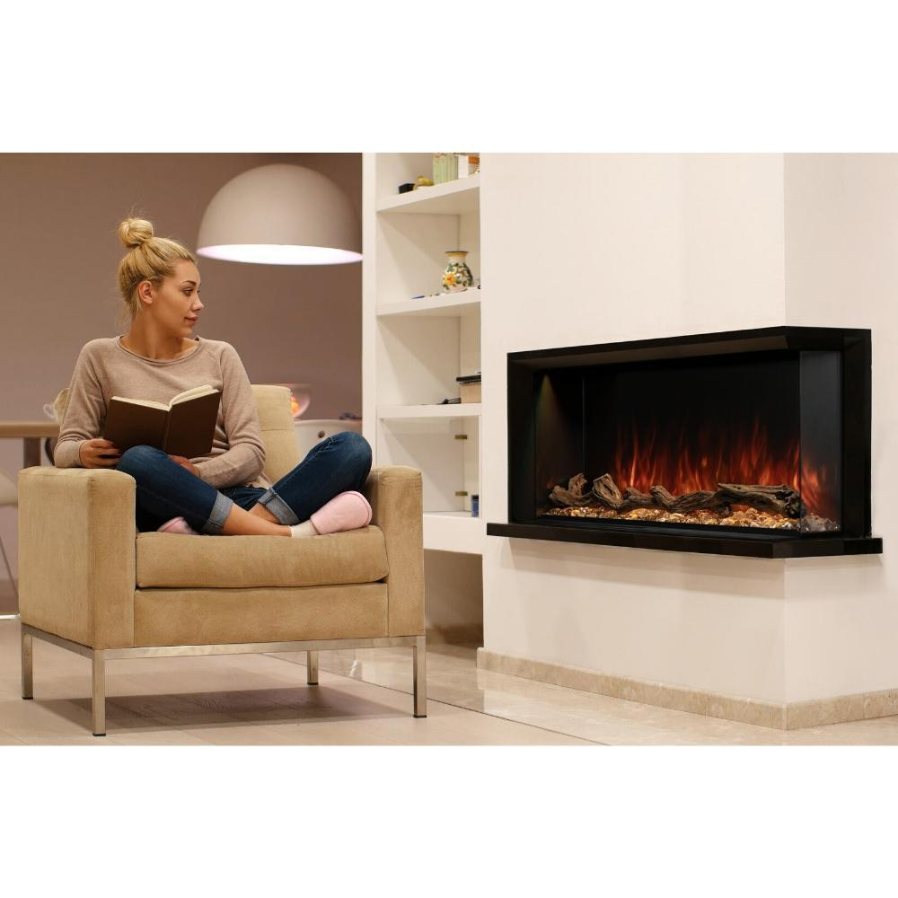 "Modern Flames Landscape Pro Multi Sided 68"" Electric Fireplace - LPM-6816"
