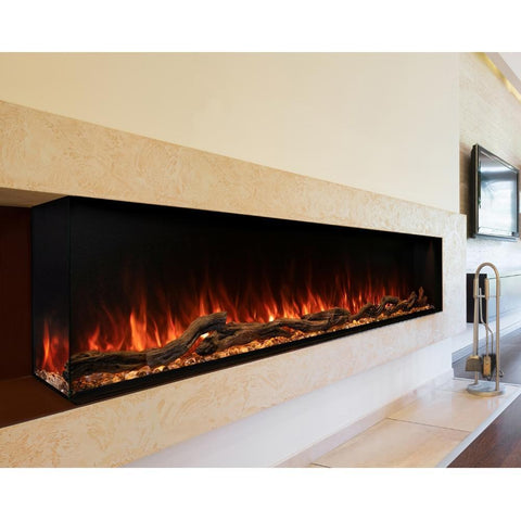 "Image of Modern Flames Landscape Pro Multi Sided 80"" Electric Fireplace - LPM-8016"