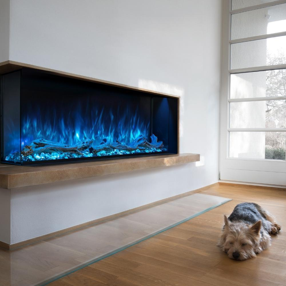 "Modern Flames Landscape Pro Multi Sided 80"" Electric Fireplace - LPM-8016"