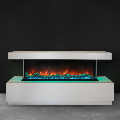 "Image of Modern Flames Landscape Pro Multi Sided Built-In 96"" Electric Fireplace - LPM-9616"
