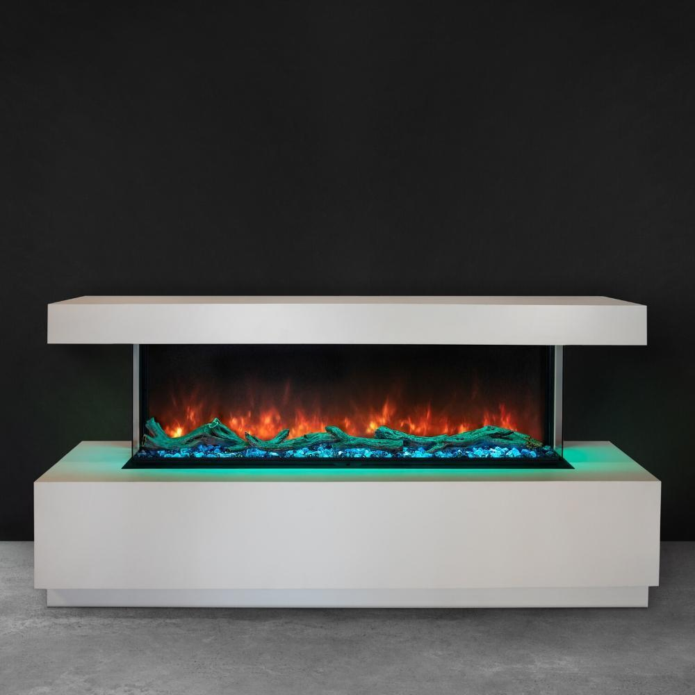 "Modern Flames Landscape Pro Multi Sided 56"" Electric Fireplace - LPM-5616"