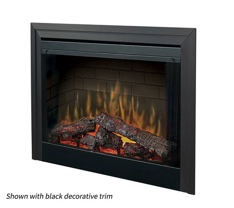 "Dimplex 39"" Deluxe Built In Electric Fireplace Insert - BF39DXP"