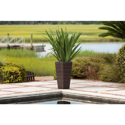 Image of Alto 2-Piece Wicker Planter Set - Patio Furniture - Patio Sense - ElectricFireplacesPlus.com