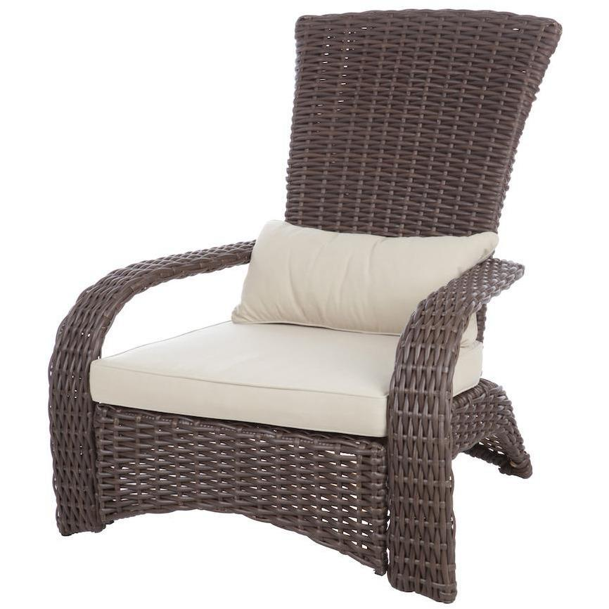 Deluxe Coconino Wicker Chair - Patio Furniture - Patio Sense - ElectricFireplacesPlus.com