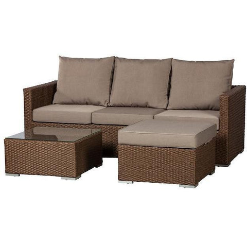 Image of Dorsey Sectional Set - Patio Furniture - Patio Sense - ElectricFireplacesPlus.com