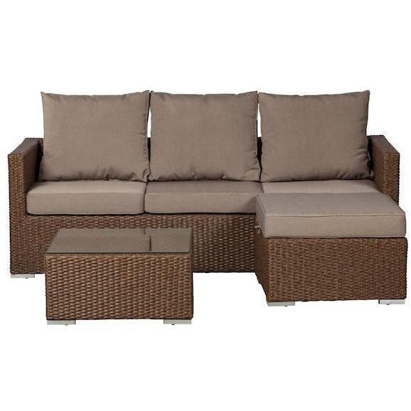 Dorsey Sectional Set - Patio Furniture - Patio Sense - ElectricFireplacesPlus.com
