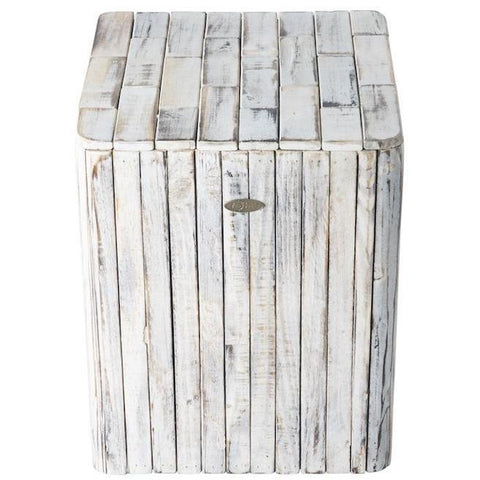 Image of Michael Square Garden Stool - Patio Furniture - Patio Sense - ElectricFireplacesPlus.com