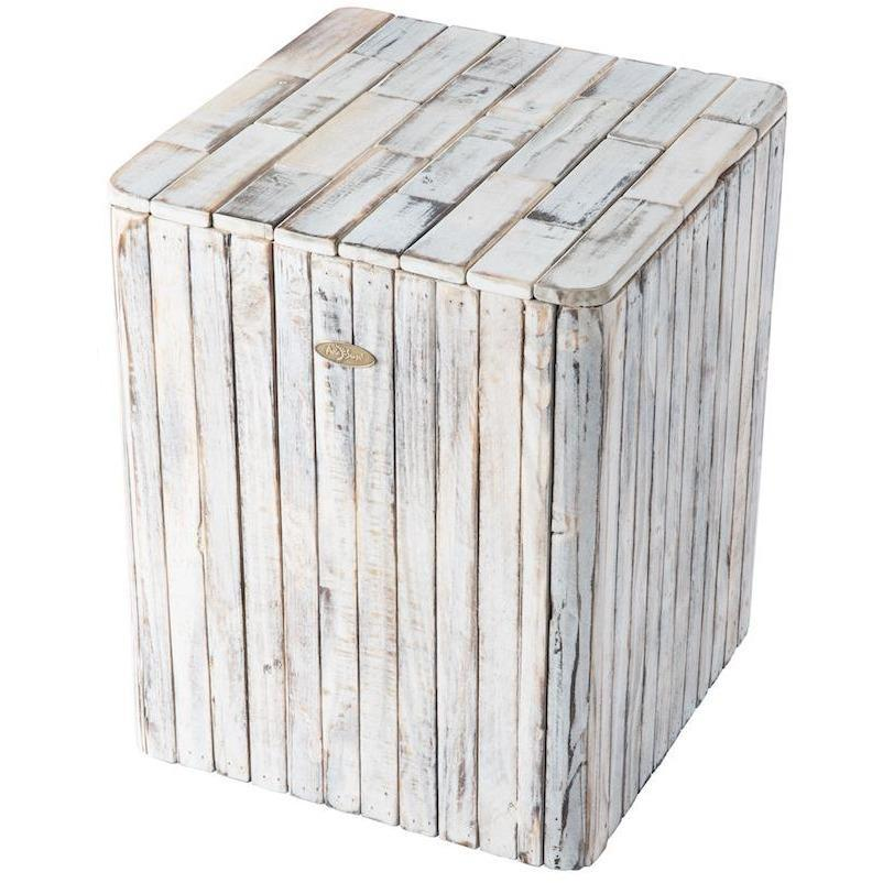 Michael Square Garden Stool - Patio Furniture - Patio Sense - ElectricFireplacesPlus.com