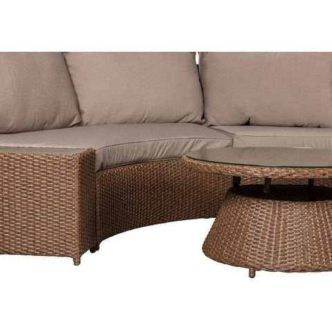 Webster Sectional Set - Patio Furniture - Patio Sense - ElectricFireplacesPlus.com