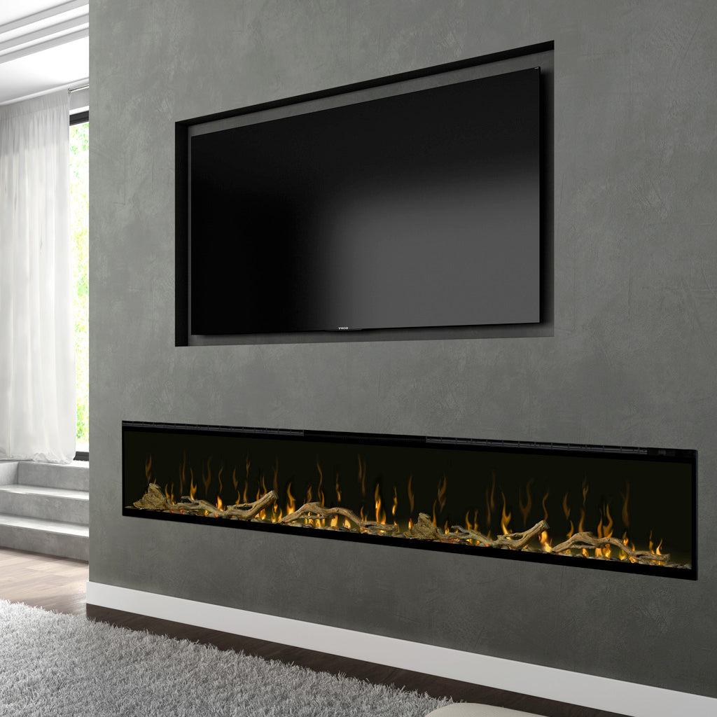 "Dimplex Ignite XL 100"" Linear Electric Fireplace 