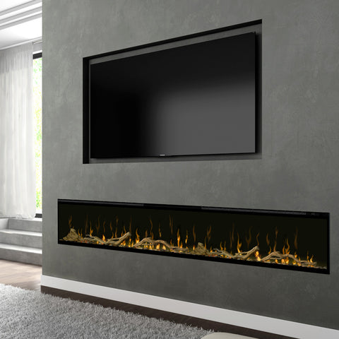 "Image of Dimplex Ignite XL 100"" Linear Electric Fireplace 