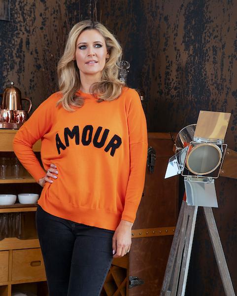 Amour Orange Jumper
