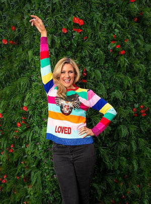 Ladies Loved Knit Jumper