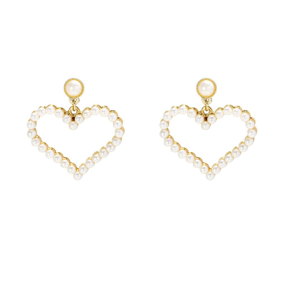 Pearl Earrings Everlasting Love