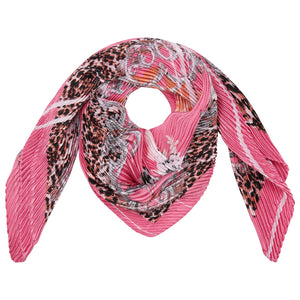 Pink Lightweight Summer Scarf