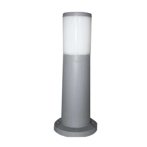 FUMAGALLI AMELIA 400 MM GREY OPAL LED 6W BOLLARD POST LIGHT