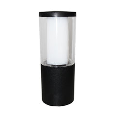 Carlo 250 mm Clear LED 3.5W Bollard Post Light - Cusack Lighting