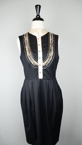 Rachel Roy Silk Sleeveless Dress